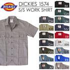 Dickies 1574 Mens Size S-2XL 3XL 4XL 5XL Mechanic Short Sleeve Work Shirt