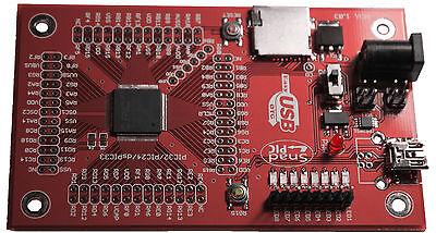 Microchip Development Board PIC32MX795F512L 32-bit USB OTG PICKIT3