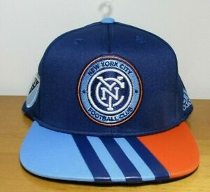 the latest a0f72 a607a Image is loading NEW-New-York-City-FC-MLS-Snapback-Hat-