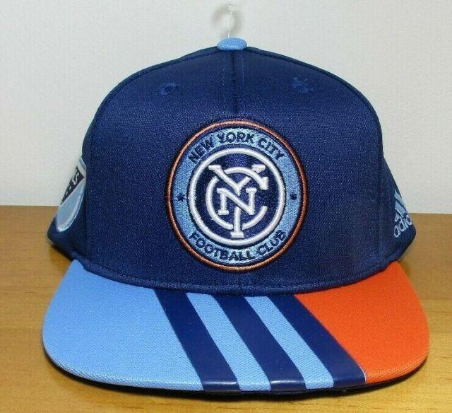 e2e6c179d82 NEW ~ New York City FC MLS. Snapback Hat. Cap. Soccer