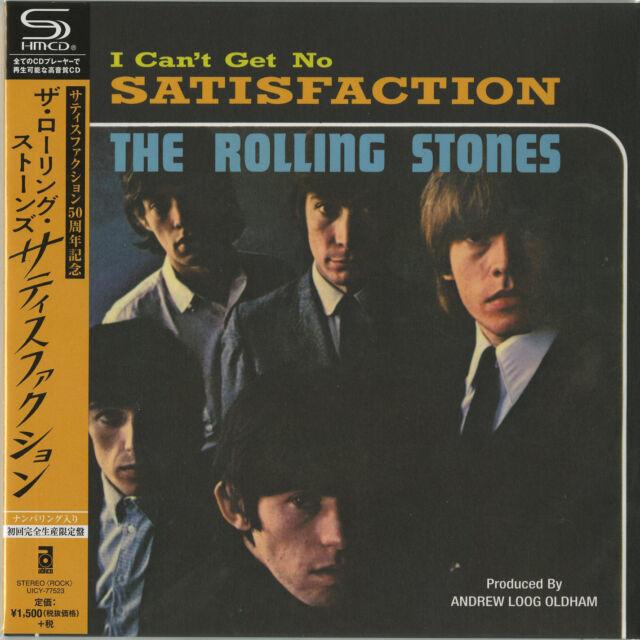 ROLLING STONES-SATISFACTION-JAPAN 7 INCH JACKET SHM-CD Ltd/Ed C94