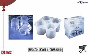 Details About Fred Cool Shooters Shot Gl Ice Mold Tray Bnib Make Gles Vodka