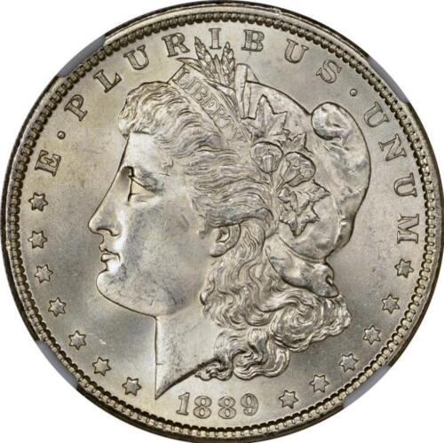 1889 Morgan Silver Dollar Brilliant Uncirculated BU