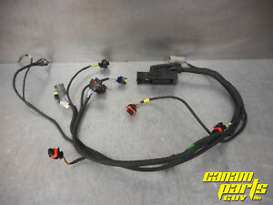 details about 2006 2007 2008 can am 500 650 800 xt engine wire harness a loom wiring wires can am defender wiring diagram can am spyder f3t f3 limited trailer