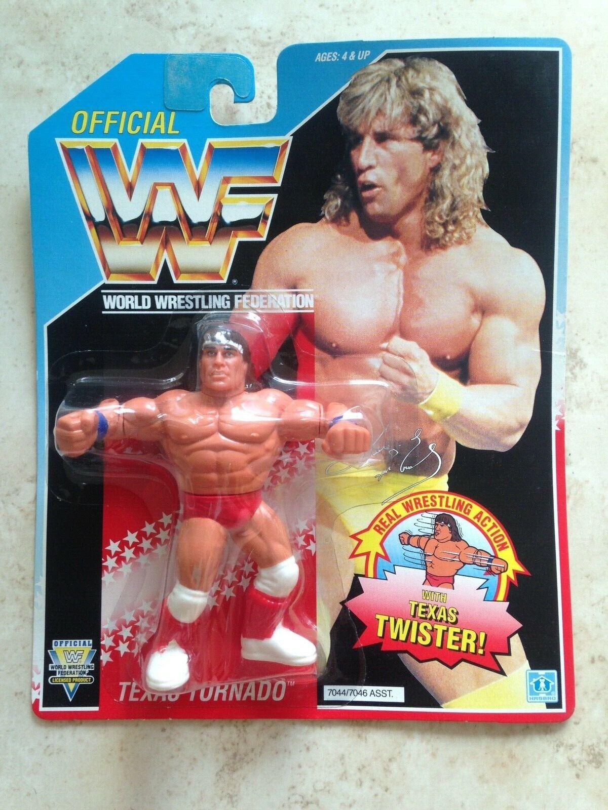 WWF Hasbro Texas Tornado Kerry Von Erich Erich Series 3 Rare Action Figure WCCW WWE