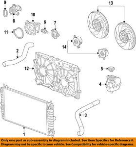 2013 chevrolet malibu engine diagram chevrolet gm oem 2013 malibu radiator 20979496 ebay  chevrolet gm oem 2013 malibu radiator