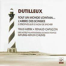 Dutilleux-Tout-un-monde-lointain-Trois-strophes-s-CD-Zustand-sehr-gut