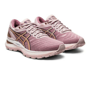 Asics-Womens-Gel-Nimbus-22-Running-Shoes-Trainers-Sneakers-Pink-Sports