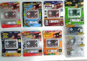 Micro Arcade Qbert Space Invaders Atari 2 Ciempiés Galaga Más Juego De 10 Ebay