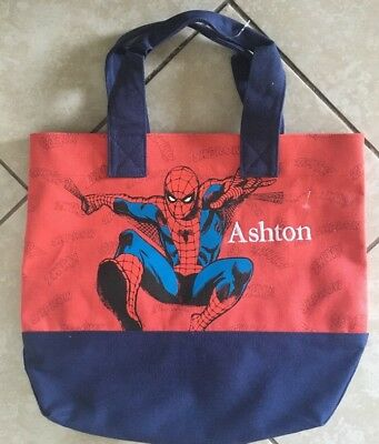 Ashton Mono Pottery Barn Kids Preppy Icon Tote Spider Man