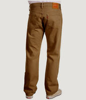 Levi 501 Shrink-to-fit White Oak Red Tab Button Fly Jeans 34 X 32 $69.50