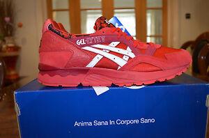 Details about ASICS Gel Lyte V Valentines Pack Red White 2015 UK Size 8, 9, 10