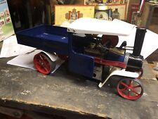 Live Steam Mamod SW1B Lorry Wagon Model - Blue - Traction Engine