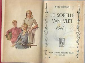 Weirauch-Le-sorelle-van-Vlet-1958-Salani-biblioteca-delle-signorine