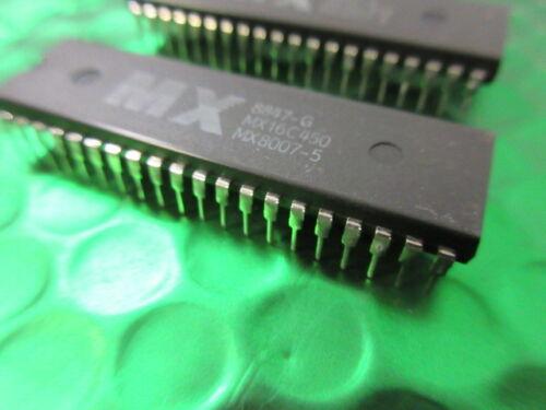 Just £ 3.25ea MX16C450 40PIN DIP Paquet Unique UART sans FIFO 2 par vente