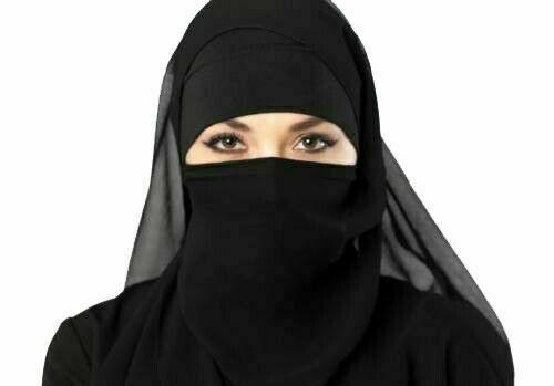 New-Muslim-Hijab-3-Layer-Burka-Nikab-Nose-peice-3-layer