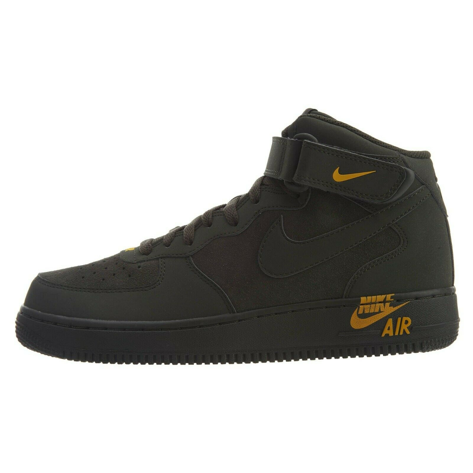 Mens Nike Air Force 1 '07 Mid Lifestyle Sequoia Yellow 315123-304 Size 10