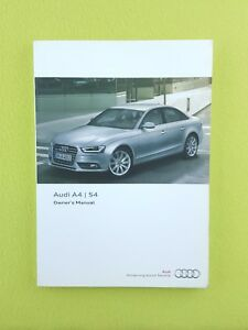 audi a4 owners manual 2015