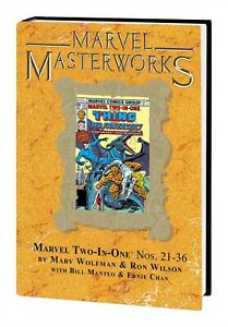 MARVEL-MASTERWORKS-MARVEL-TWO-IN-ONE-VOL-3-DM-VAR-256-NEW-SEALED-HARDCOVER-MMW