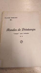 Debussy: Rondes De Printemps Nº 3: Poche Musique-afficher Le Titre D'origine