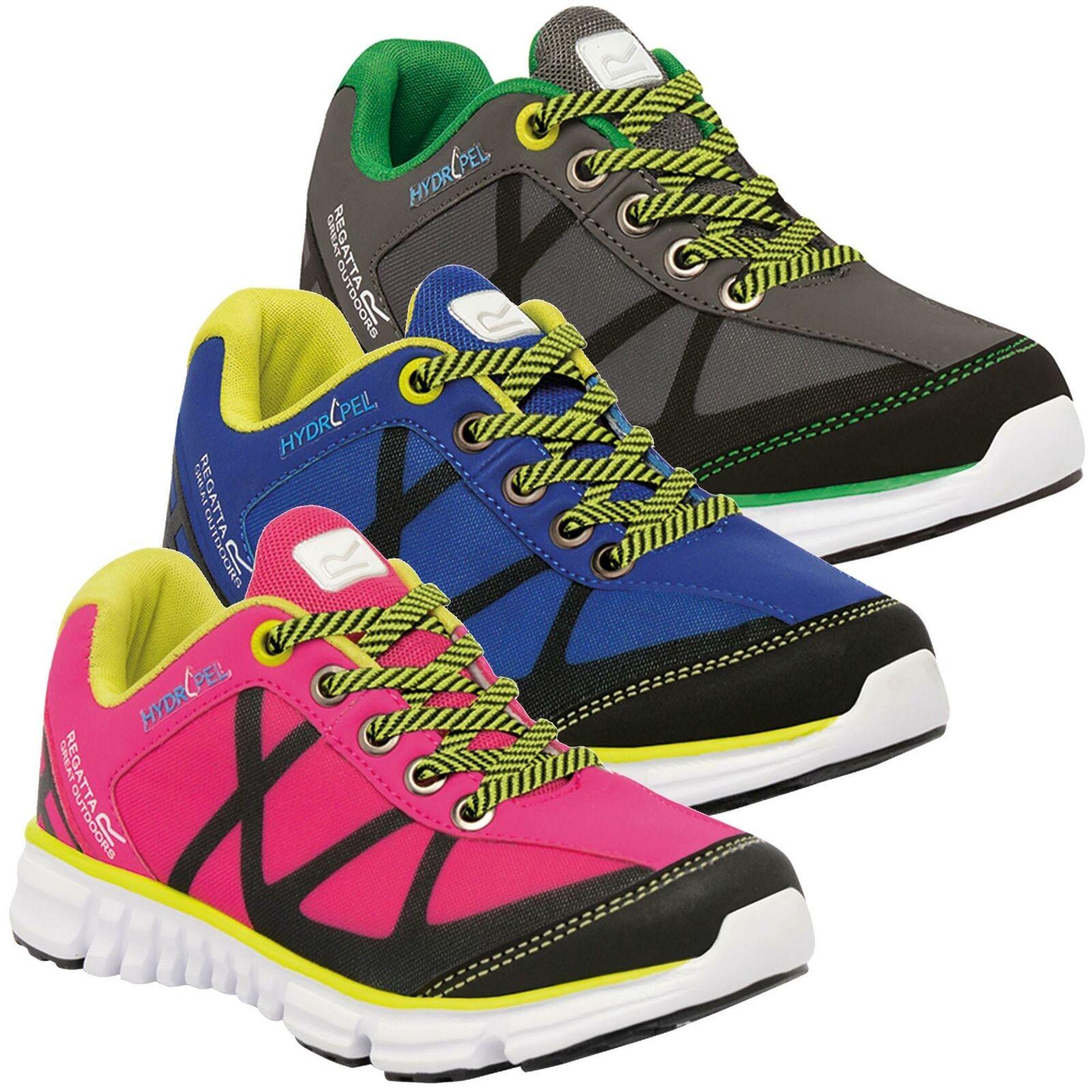 Regatta Kids HyperTrail Low Shoe Charcoal Green