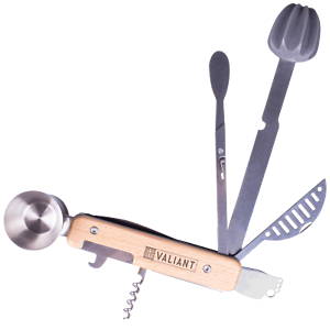 Valiant 9-in-1 Cocktail Maker Multi-Tool Bar Ware Set