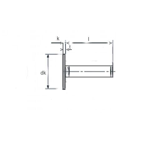 25 Stück Sammy® Schrauben M2X12 großer Flachkopf,sehr niedrig Torx Edelstahl A2