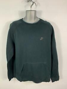 MENS-NIKE-BLACK-JUMPER-LONG-SLEEVED-CREW-NECK-PULL-OVER-SWEATER-TOP-SIZE-X-LARGE