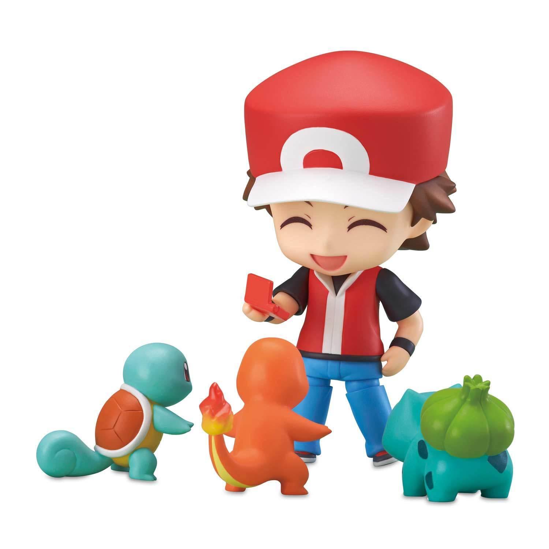Pokemon Center Nendoroid  rosso Posable Figure