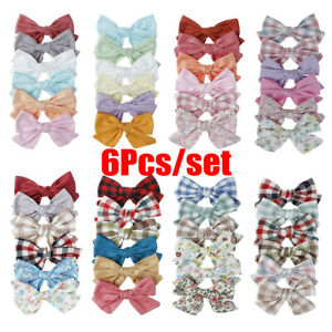 Barrette-Baby-Girl-Bow-Hair-Clips-Children-Hair-Accessories-Bowknot-Hairpins