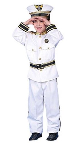 Dress up America Deluxe Kids Navy Admiral Costume Outfit Fancy Dress Age 1-2 Yrs