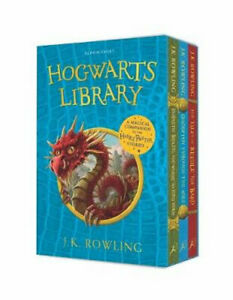 NEW The Hogwarts Library - Box Set By J.K. Rowling Paperback Free Shipping