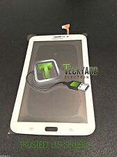 SAMSUNG GALAXY TAB 3 7.0 DIGITIZER TOUCH SCREEN FOR SM-T211 T211 3G Hole WHITE
