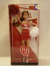 Barbie University Oklahoma Boomer SOONER CHEERLEADER OU Mattel Pink Label  NEW