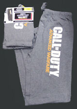 NWT Mens CALL OF DUTY advanced warfare SOFT LOUNGE PANT SWEAT PANTs pj -Sm 28-30