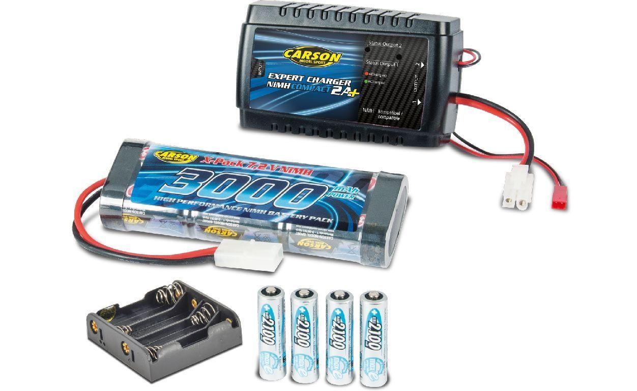 Carson 500607017 Expert Charger Car & Radio Set Neuware  | Deutschland Shop