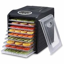 Ivation Electric Countertop Food Dehydrator with 9 Drying Racks w/ Temp Controls