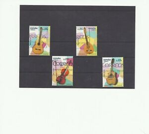 SPAIN-ESPAGNE-SPANJE-complete-set-2011-Musical-Instruments-used
