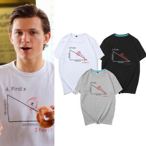 24ff12497 Spider-Man Homecoming Find Tom Holland Men's Women's Unisex X T ...
