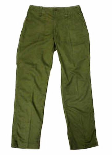 Lightweight Green Service Uniform Combat Trousers British Army Surplus Fatigue