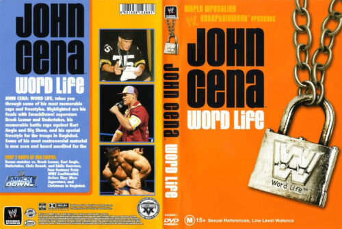 1 of 1 - Official WWE John Cena Word Life DVD (Pre-Owned)