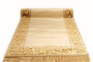 Maeander-Teppich-Laeufer-Beige-67x400-cm-K-Seide-Maeander-Medusa-Carpet-Rug-versac