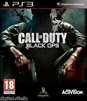 Call Of Duty Black Ops Ps3 Sony Playstation 3 Brand Sealed