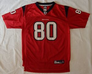 Reebok Andre Johnson  80 Red Houston Texans Jersey Women SZ M or ... 488359160