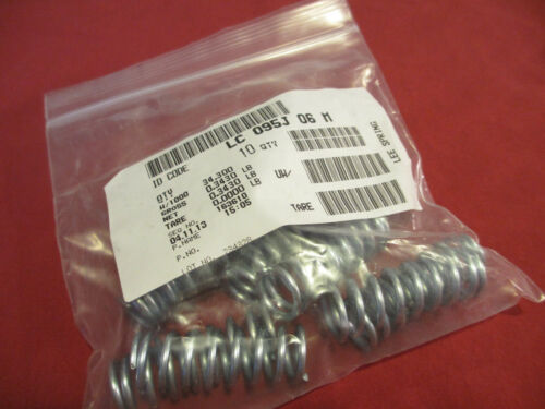 Lee Springs Package of 10 Music Wire LC 095J 06 M, Compression Spring W