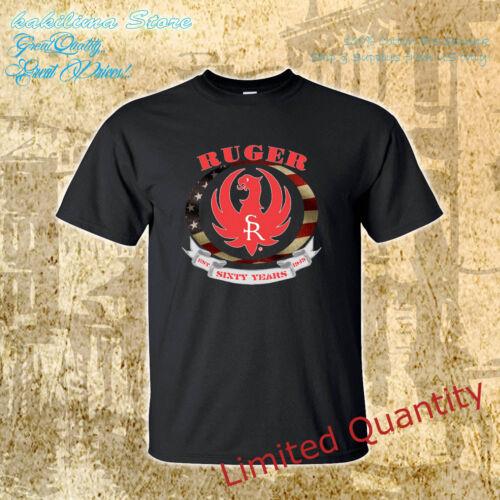 RUGER logo 2nd Amendment Gun Pistol Sturm 1949 new Mens t-shirt size S to 4XLT