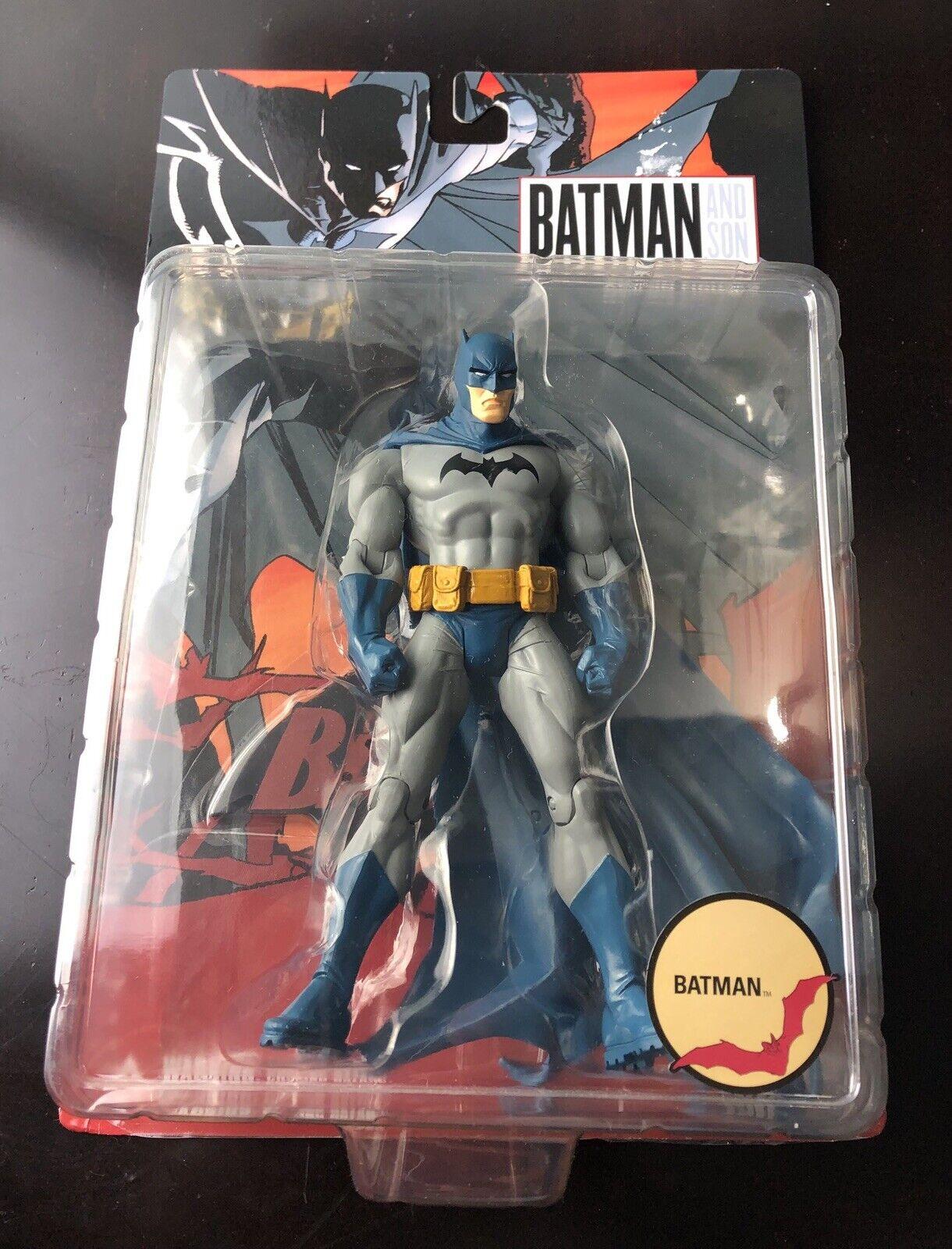 2007 DC Direct Batman Batman Batman and Son BATMAN 6.5  Inch Action Figure MOC 4f1e5e