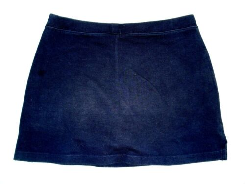 LANDS/' END Yellow Pink Brown Solid POLKA DOT STRIPE Knit Girls SKORT Skirt 8