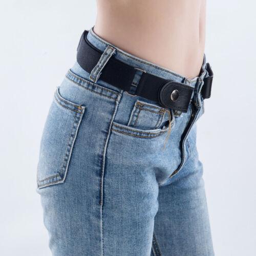 unsichtbarer Gürtel Leder für Jeans Schnallenloser Unisex verstellbarer