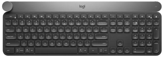 Logitech Craft Advanced Wireless Keyboard with Creative Inpu